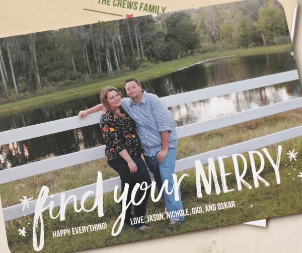 our 2016 christmas card with tiny prints casa de crews