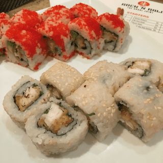 Where to take out of town guests in Tampa: Rock n' Raw Sushi