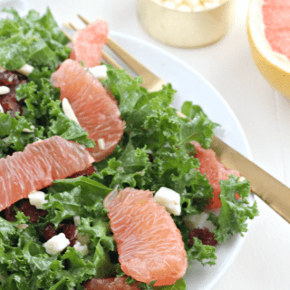 Kale Grapefruit Salad