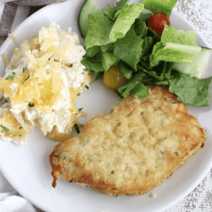 Almond Breaded Pork Chops [low-carb]