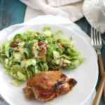 Apple Butter and Chipotle Chicken Thighs [paleo, whole 30]