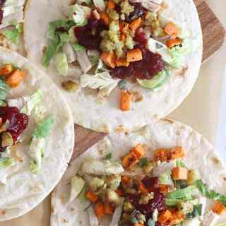 Thanksgiving Tacos [leftovers]