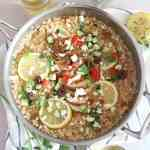 One-Pot Greek Chicken Risotto