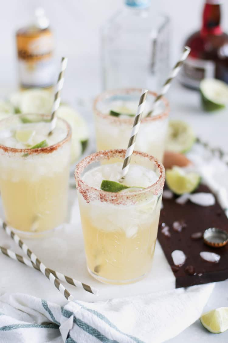 Beer Margaritas with Corona and Fresh Lime