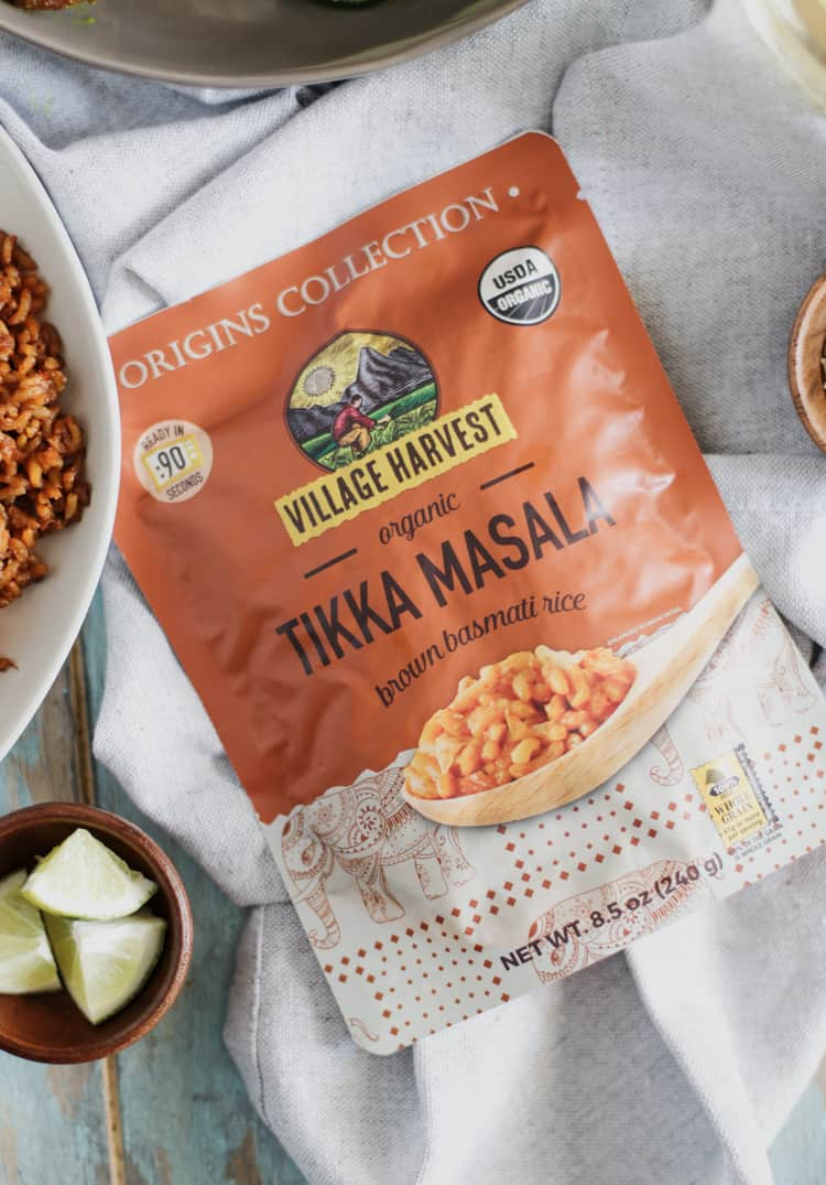 Enjoy the comforting flavors of Tikka Masala, already prepared in an aromatic basmati rice, ready to eat in just ninety seconds!