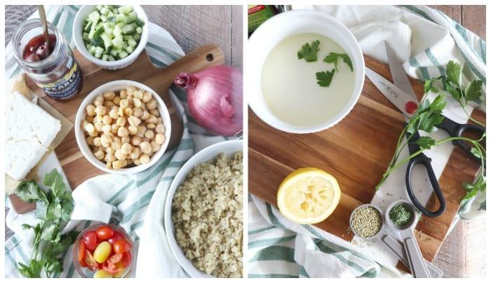 Chopped Mediterranean Quinoa Salad
