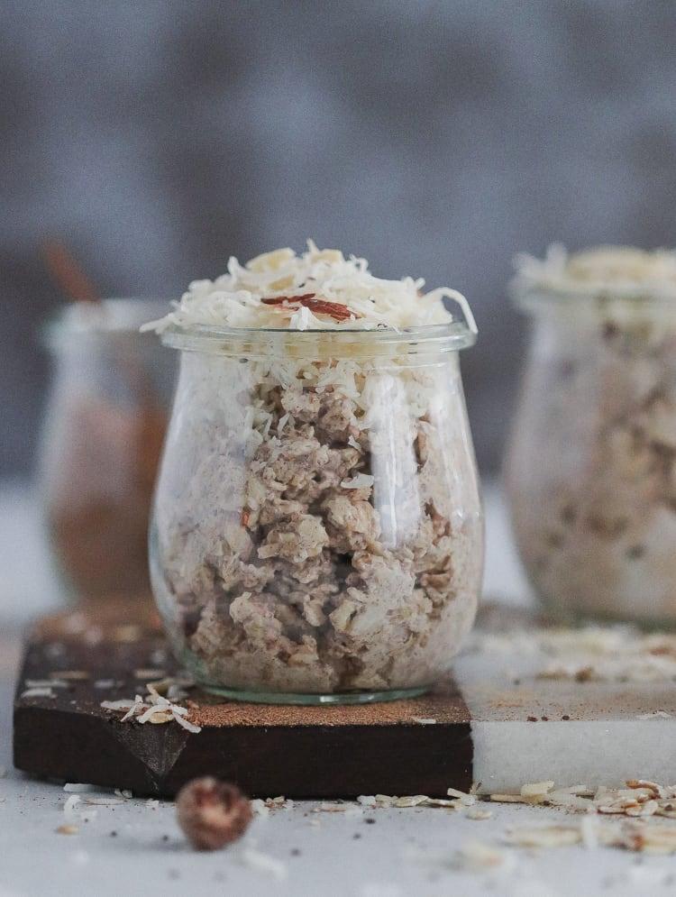maple chai overnight oats [gluten-free]