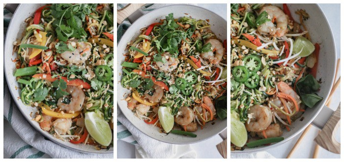 whole30 shrimp pad thai
