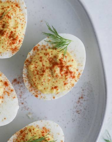 classic deviled eggs in the instant pot #whole30 #paleo