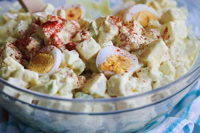 Whole30 classic potato salad