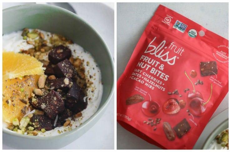 Cherry Pistachio Yogurt Bowls
