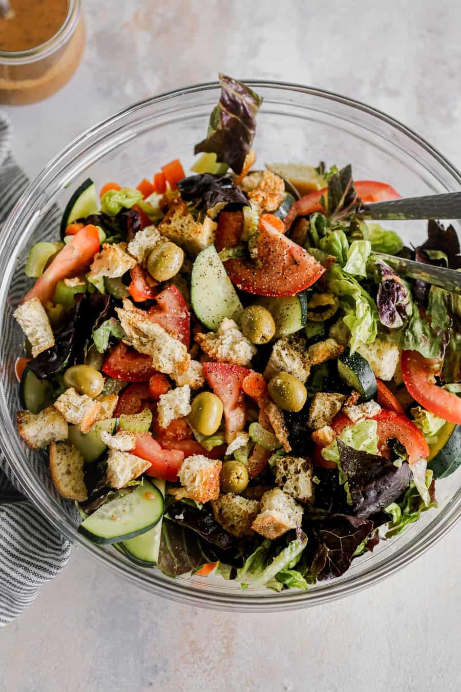 easy side salad recipe