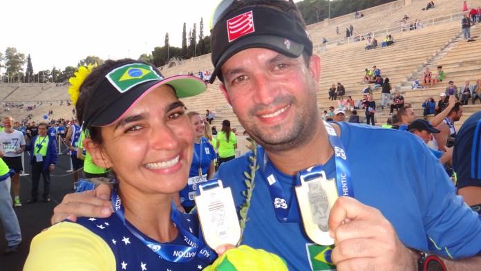 Maratona de Atenas Medalha