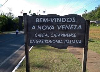 Pórtico de Nova Veneza Santa Catarina