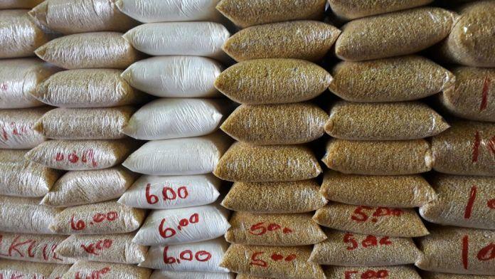 Mercado Adolpho Lisboa Manaus farinhas regionais