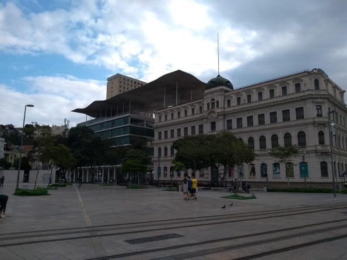 MAR - Museu de Arte do Rio, Boulevard Olímpico.