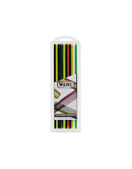 Wahl pack 12 pentes de corte – coloridos