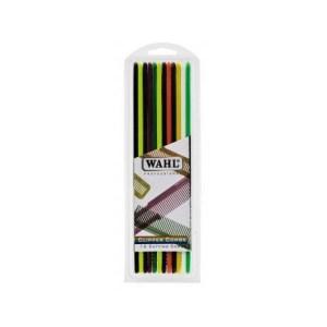 Wahl pack 12 pentes de corte - coloridos