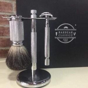 Conjunto barbear clássico