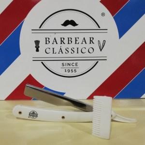 Barbear Clássico navalha cabo plástico