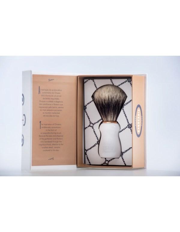 Antiga Barbearia do Bairro - pincel barbear texugo CHIADO