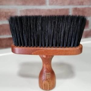 Espanador barbeiro cabo madeira EUROSTIL