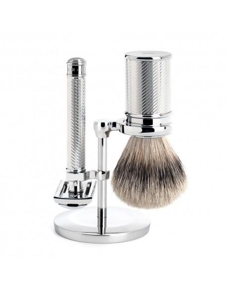 Conjunto de barbear tradicional Mülhe de 3 peças