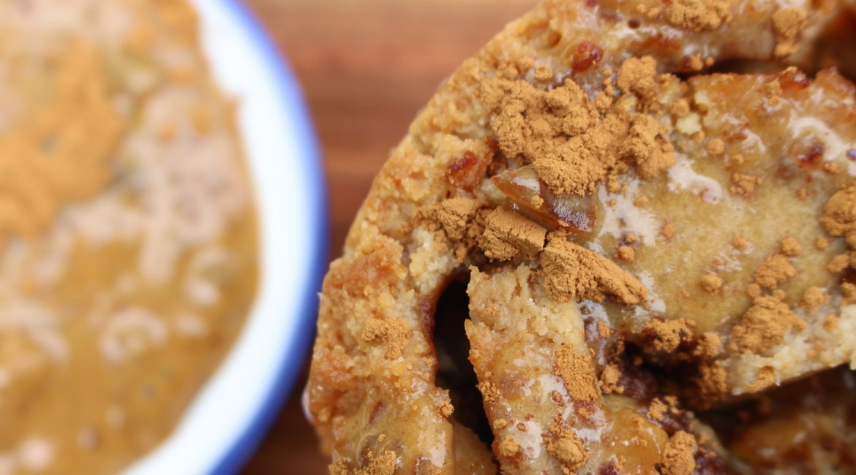protein cinnamon scrolls keira rumble krumbled