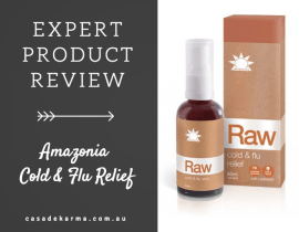 amazonia cold and flue relief product review