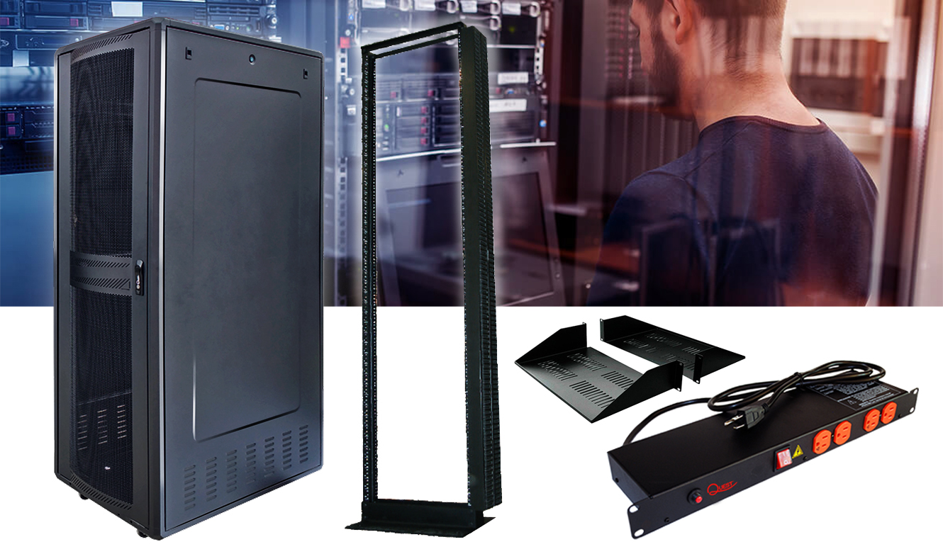 gabinetes y accesorios para data center