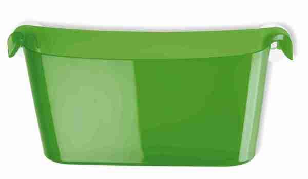 Mensola Boks a ventosa verde Koziol