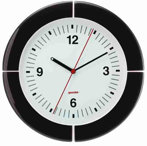 Orologio da parete i-Clook nero Guzzini