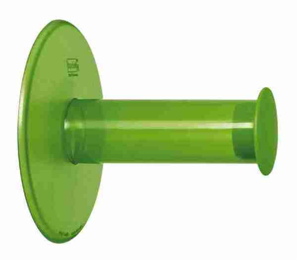P.ta carta igenica Plug'n roll a ventosa Koziol verde