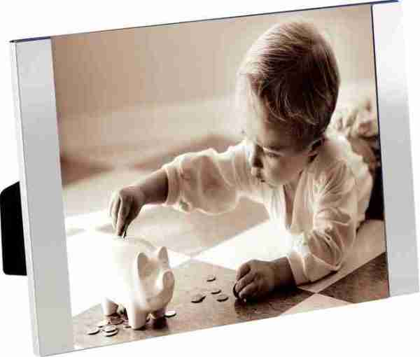 P.ta foto vetro bordo alluminio Padova 10x15
