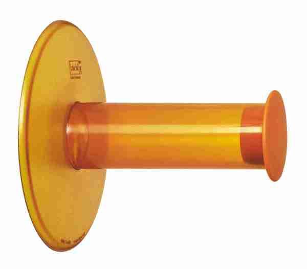 P.ta carta igenica  Plug'n roll ventosa Koziol arancio
