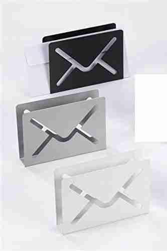 Portacorrispondenza Lettera in metallo col.assortiti Maiuguali