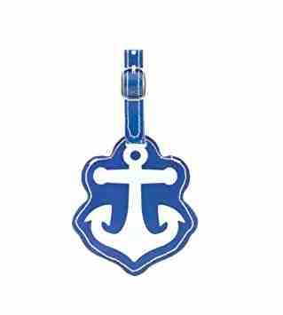 Etichetta-targhetta valigia Anchor