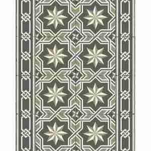 Tappeto vinile Beija Flor decoro G2-C Gothic Authentic 60x80