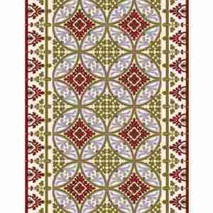 Tappeto vinile Beija Flor Decoro Barcelona T1 cm.60x80