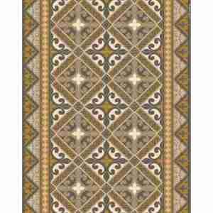 Tappeto vinile Beija Flor decoro Flor De Lis L12 cm.60x80