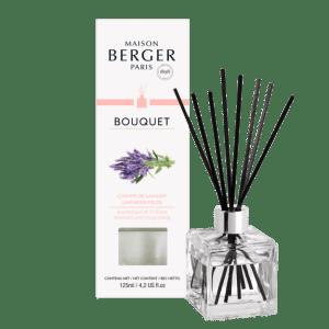 Bouquet Parfumé Cube Champe de Lavande