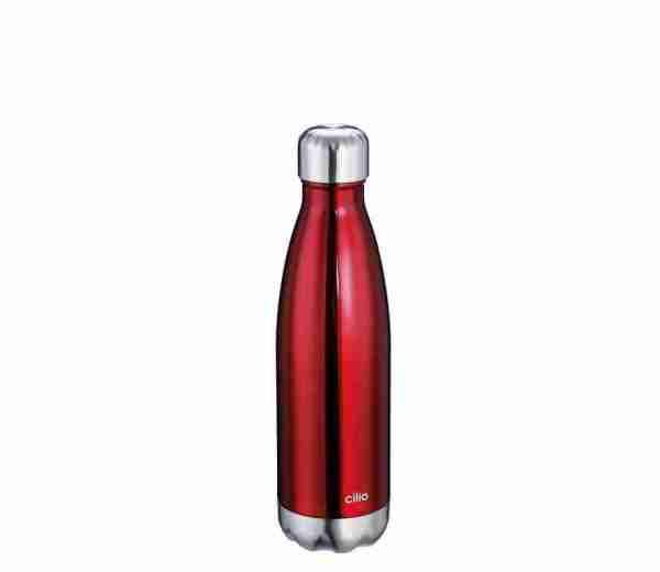 Bottiglia termica Cilio lt.0,500 rosso
