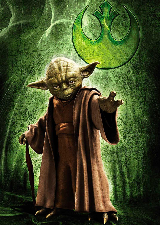 Comprar Puzzle Ravensburger Yoda Star Wars De Piezas Ref 7