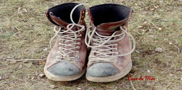 Sapato velho também pode percorrer uma nova estrada