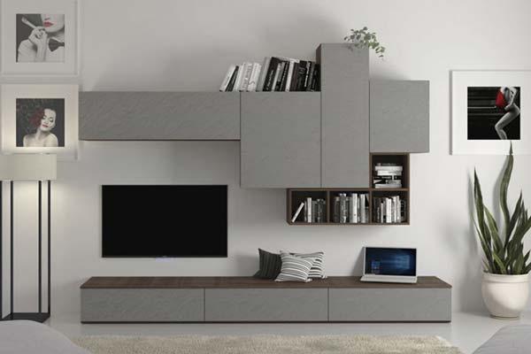 La parete attrezzata a103 tomasella starà alla perfezione in un living funzionale e bello da vedere: Arredamento Living Soggiorno E Pareti Attrezzate Casa Design