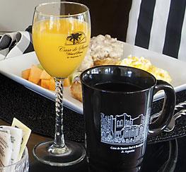 signature mug and glassware