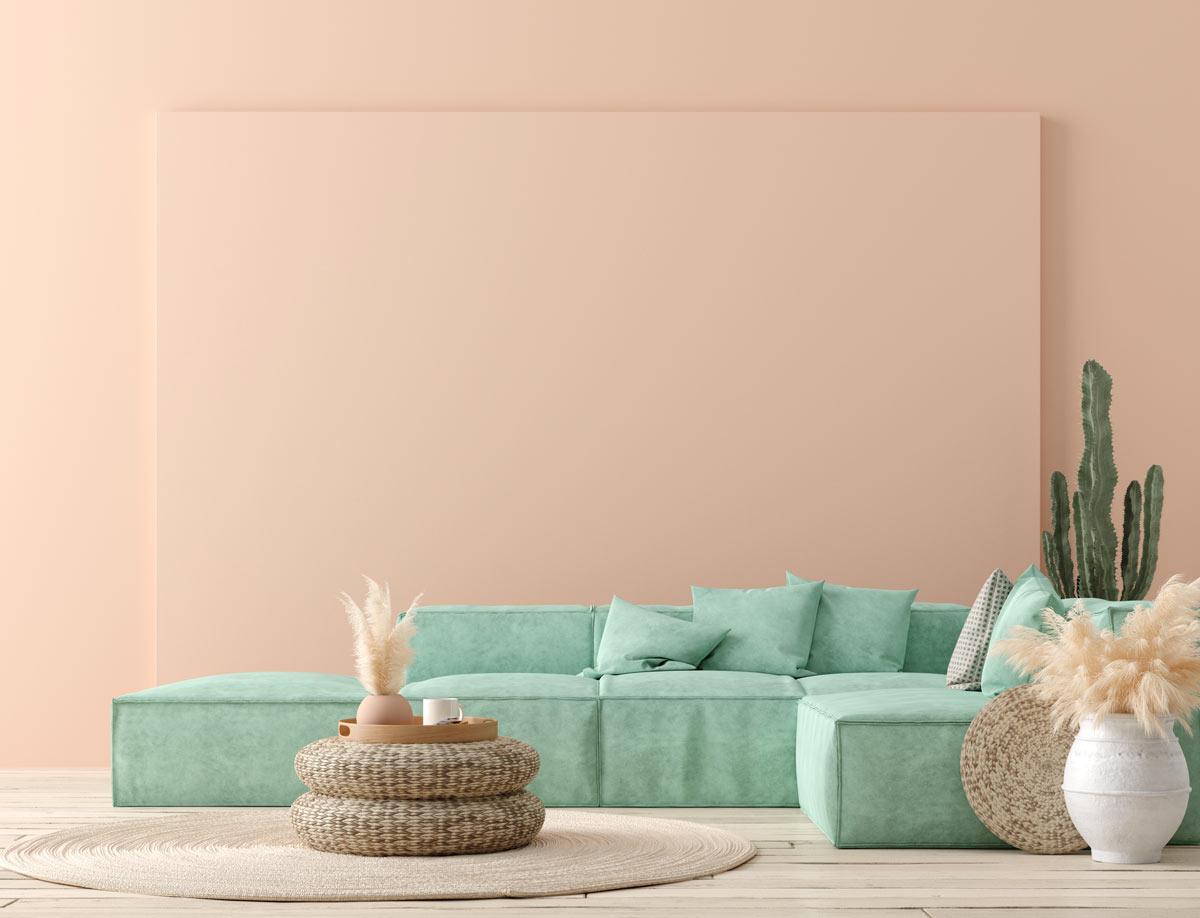 Come il viola o il blu; Colori Pareti Soggiorno 25 Idee Di Abbinamento Per Un Salotto Design