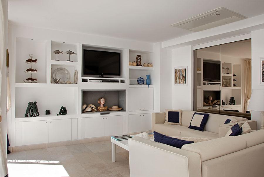 In soggiorno, per esempio, la parete attrezzata in cartongesso per la tv è. Ufficio In Cartongesso Miami Annamariespizza Com