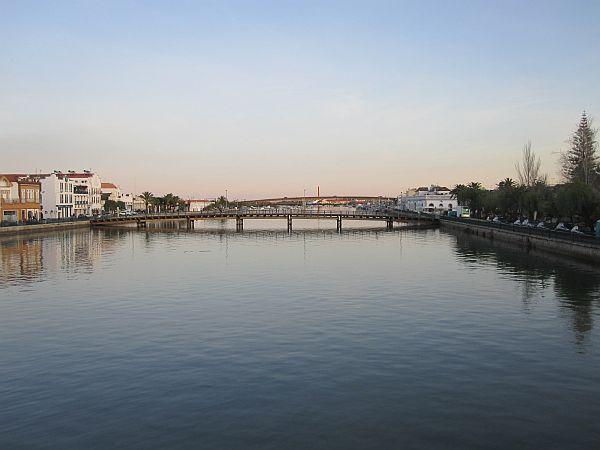 New bridge crossing the Ria Gilão in Tavira