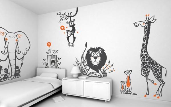 Scegli il più adatto ai. Adesivi Murali Per La Cameretta Dei Bambini